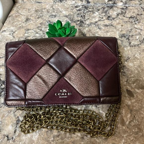 Coach Handbags - Coach leather patchwork Crossbody